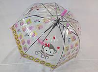 Детские прозрачные зонтики с яркими рисунками № 208 от PAOLO