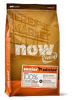 Сухой беззерновой корм «Now! С индейкой, уткой и лососем» 24/10 (для пожилых собак всех пород) 11,34 кг