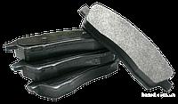 Колодки передні (CHERY AMULET/A11/A15 03-) +вушко
