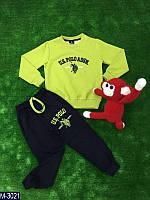 Спортивный трикотажный костюм детский