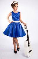 Нарядное платье для девочки Стиляги Электрик - 020