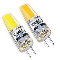 Светодиодная лампа G4 3.5W COB 3000K AC220