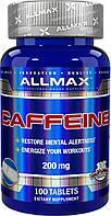 100% чистый кофеин / ALLMAX Caffeine 100 tabs