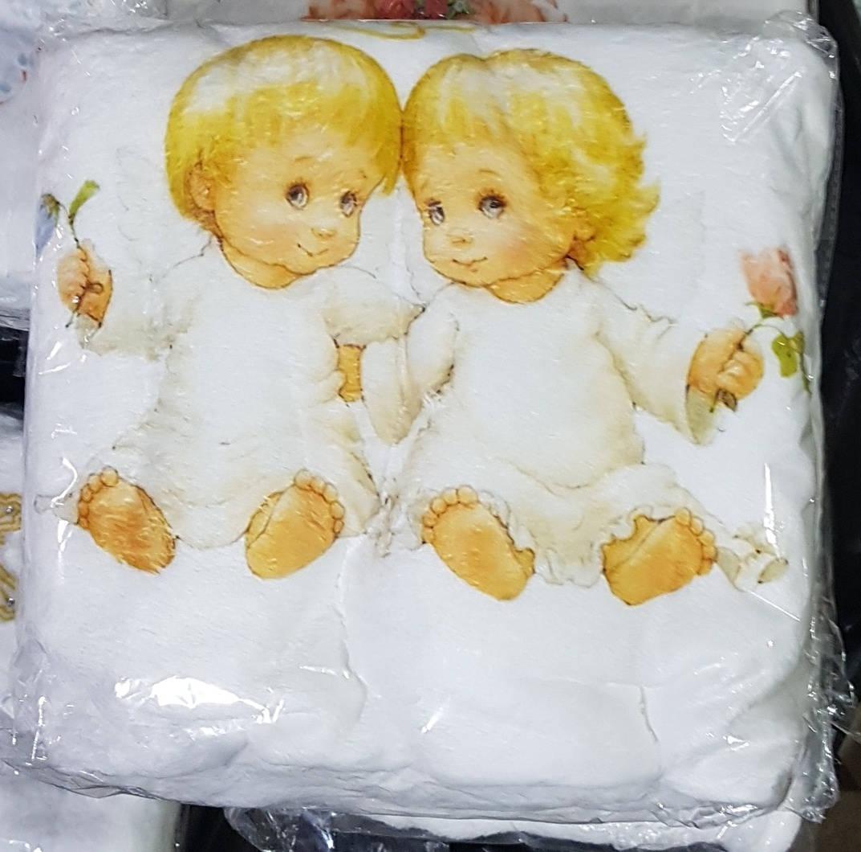 Крыжма для крещения с ангелочками