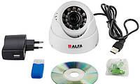 Цифровая камера-регистратор ALFA Agent 001 white (внутренняя)
