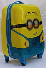 Чемодан детский дорожный  ручная кладь 45 см Josepf Ottenn Миньон 16-FX-120, фото 2