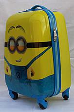 Чемодан детский дорожный  ручная кладь 45 см Josepf Ottenn Миньон 16-FX-120, фото 3