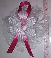 Свадебные цветочки для гостей (цвет - малиновый) Ц-г-3-мят-1