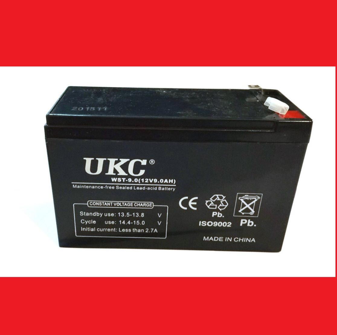 Батарея аккумуляторная  UKC 12v 9А 12 В 9А