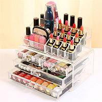 Органайзер косметичка Cosmetic Storage Box 4 Drawer