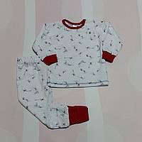 """Пижама для девочки """"Маленькие мечтатели"""" футер с начесом арт. 104355, 104234"""