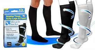 Компрессионные гольфы для профилактики и лечения ног Miracle socks, фото 2