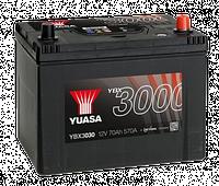 Аккумулятор YUASA SMF Battery 70Ah (570A) -/+ (0) YBX3030