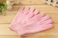 Gel Spa Gloves.(Гелевые увлажняющие перчатки) Розовые