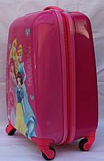 Валізи дорожні дитячі ручна поклажа якість люкс Josepf Ottenn Принцеса-48 см 7564-18, фото 3