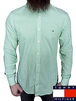 Мужская рубашка Tommy Hilfiger р-р L Оригинал (сток, б/у) original с длинным рукавом