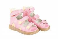 Босоножки детские. Ортопедическая обувь MEMO, модель ATENA pink (22-29)