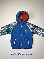 Демисезонная детская куртка Lupilu на мальчика 2-4 года