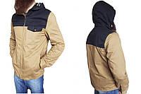 Мужская куртка River Island  р-р М (сток, б/у) весна-осень, коричневая, ветровка