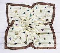 Платок Луи, плотный шелк.110*110 см