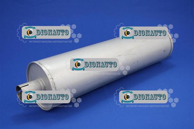 Глушитель 3302, 2705, 2217 нового образца D51 тонкая труба центр Запорожье ГАЗ-2705 (дв. ЗМЗ-402) (36-1201010-01)