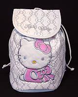 """Рюкзак детский для девочки """"Hello Kitty"""" белого цвета"""