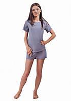 Легкая женская пижама с кружевной спинкой (S-XL)