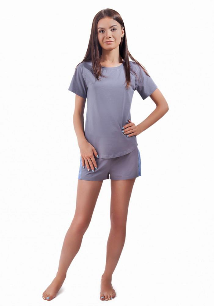 811ea828d85e Легкая женская пижама с кружевной спинкой (S-XL)