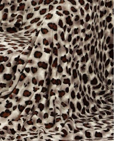 Микрофибровая простынь, плед, покрывало Elway полуторное Шкура лапки