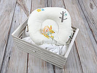 Детская подушка для новорожденных с держателем для пустышки, Лесные жители, фото 1