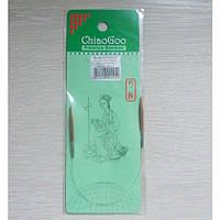 Спицы ChiaoGoo круговые бамбуковые 23см 3,75мм