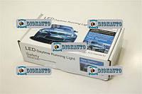 Дневные ходовые огни 5 (FLUX) диодов 1W L-19см (светодиодные фары дневного света)  (DRL-203)