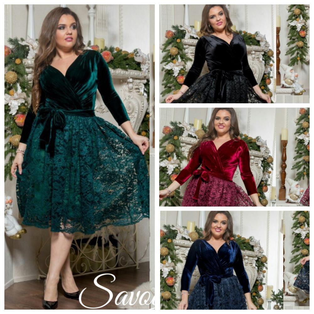 7f2101ee27b Нарядное бархатное платье кружевной юбкой 15715-1  продажа