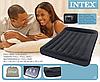 Двуспальная надувная кровать Intex 66781 со встроенным электронасосом