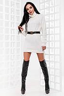 Женское стильное теплое платье Конти