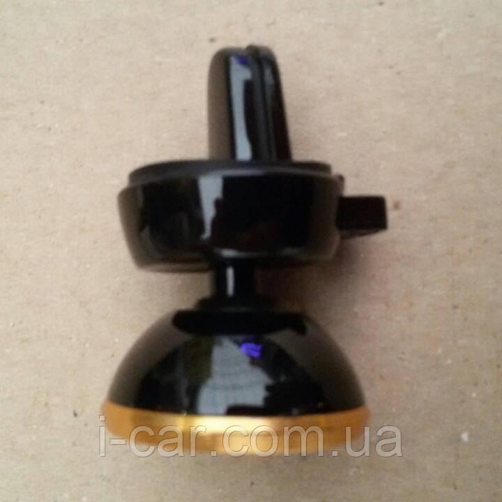 Автомобільний магнітний тримач для телефону на прищіпці