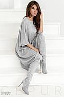 Асимметричное платье oversize