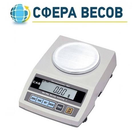 Весы лабораторные CAS MW-II-300 (300 г), фото 2