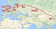 Железнодорожные перевозки из Китая на Украину