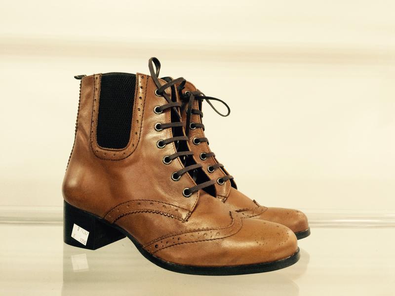 Оксфорды женские ботинки полусапожки Fosco р-40