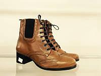 Оксфорды женские ботинки полусапожки Fosco р-40, фото 1