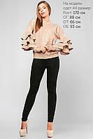 Элегантная женская кофта из парчи
