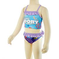Детский раздельный купальник Finding Dory (В поисках Дори) на девочку 2-4-6 лет ТМ ARDITEX WD11182 св. фиолетовый, фото 1