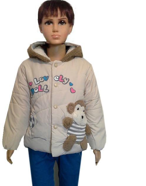 Куртка с обезьянкой