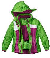 Термокуртка лыжная для девочки 7-8 лет, размеры 122-128 ТМ Crivit Sports (Германия) IAN59197