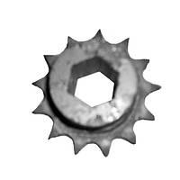 Звездочка прив. аппарата высев. (Z=13, Т=15,875 шестигранник) СУПН-8А, УПС,ВЕГА,ВЕСТА