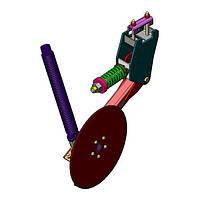 Сошник туковый левый (диск слевой стороны) ВЕГА