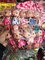 Куколки для букетов с игрушками. В наборе 12 штук