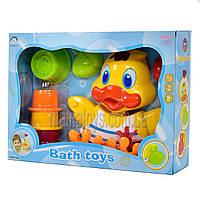Водопад игрушка для ванной малышам. Утенок 8823