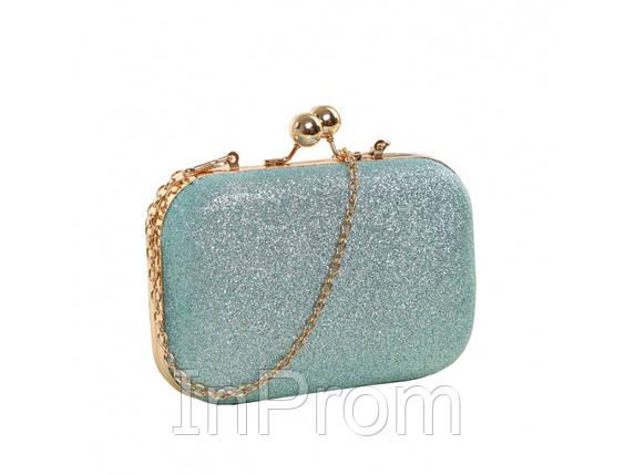 Вечерняя сумка Hight Turquoise, фото 2